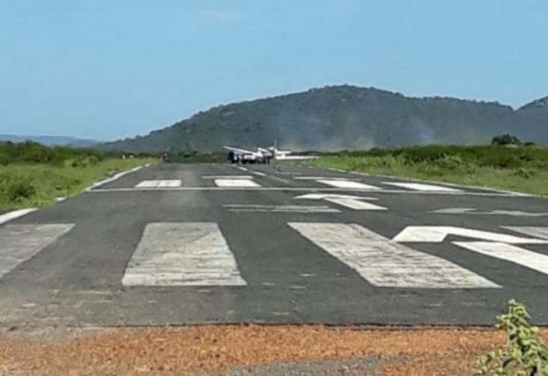 Aeronave que transportava vacinas colide com animais em Ibotirama
