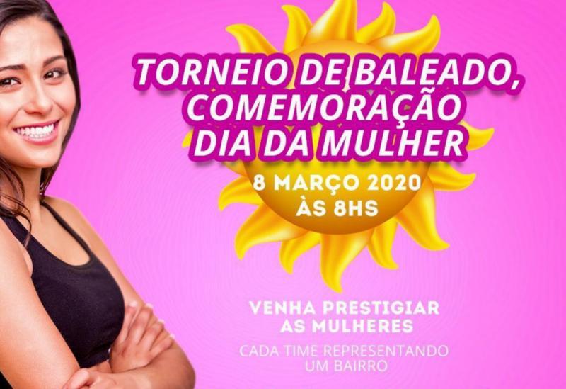 Brumado: acontece neste domingo (08) torneio de baleado feminino em comemoração ao Dia das Mulheres