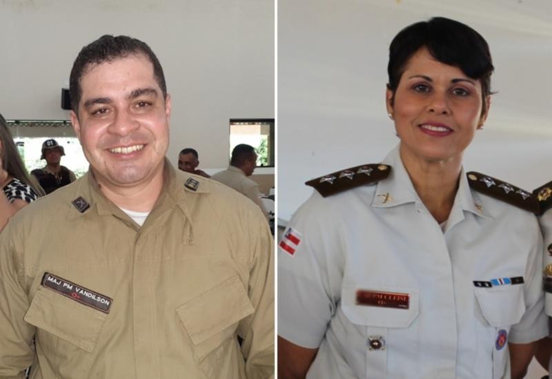 Livramento: Major Vandilson deixa o comando da 46ª CIPM; Major Cleise Delfino assume