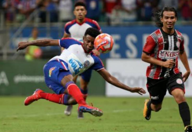 Bahia faz 3 a 0 no Atlético pela semifinal do Baianão