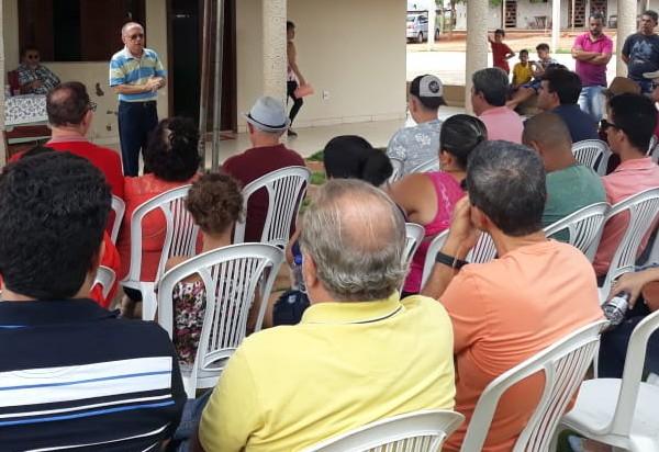 Brumado: durante reunião, ex-prefeito Geraldo Azevedo propõe unidade da oposição à prefeito  Eduardo Vasconcelos
