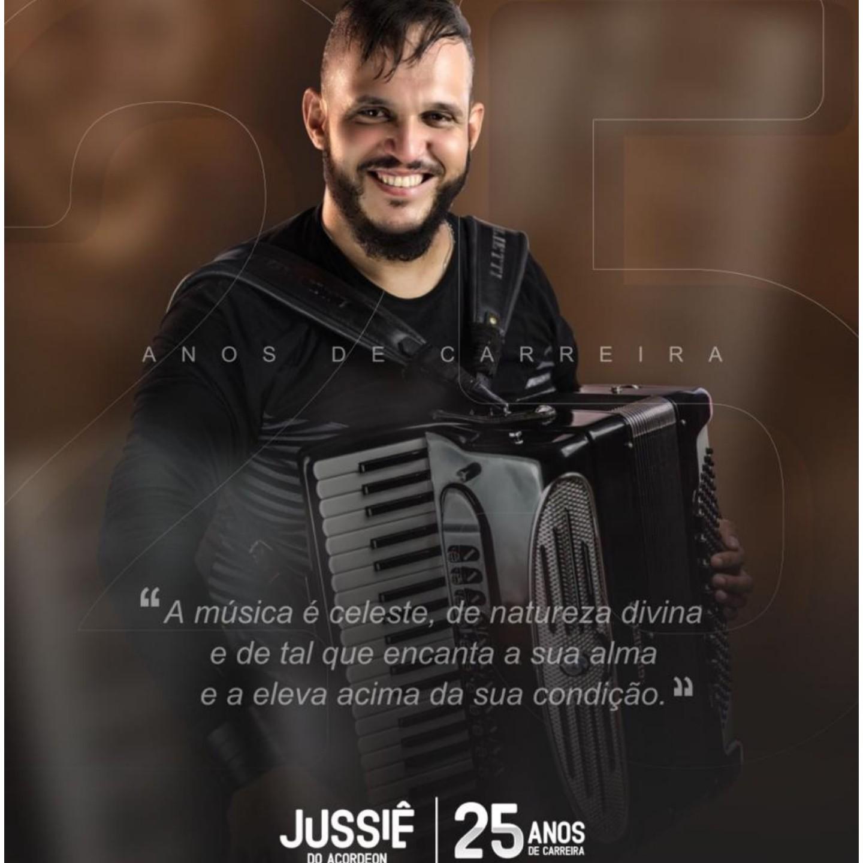 Música: Jussiêdo Acordeon comemora 25 anos de carreira