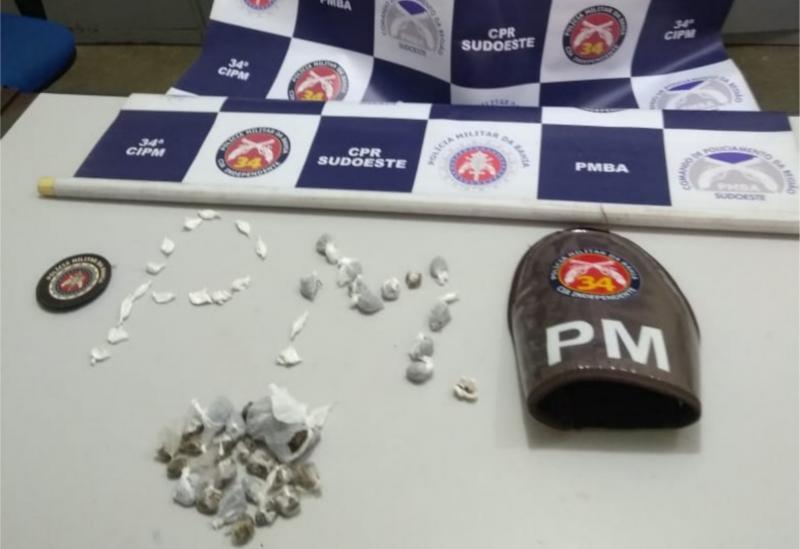 Homens são detidos em Contendas do Sincoráacusados de tráfico de drogas