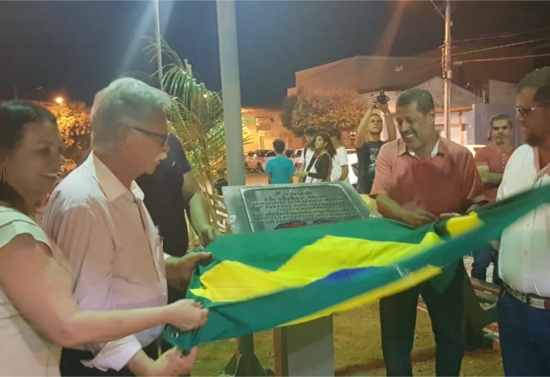 Praça do Rotary foi inaugurada em Brumado