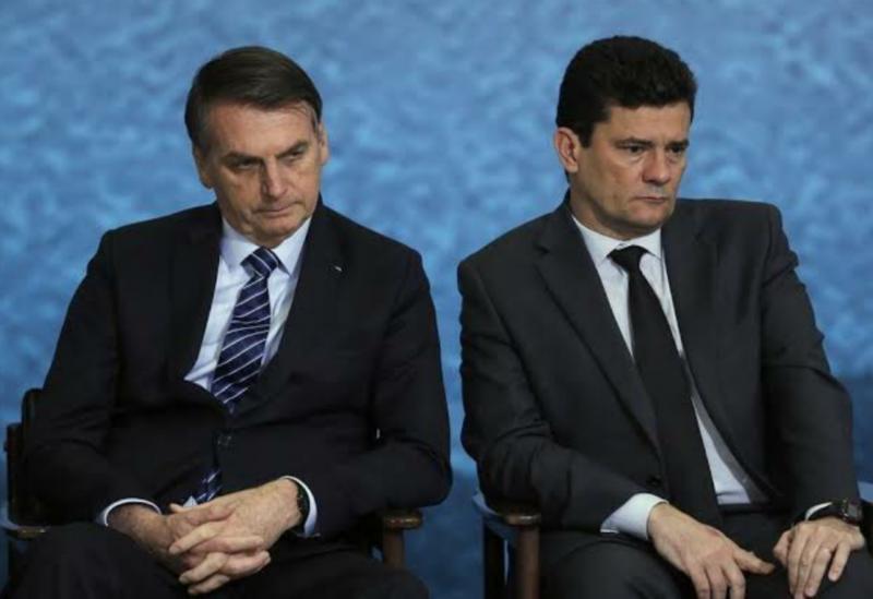 Ministro do STF autoriza apurar denúncias de Moro contra Bolsonaro