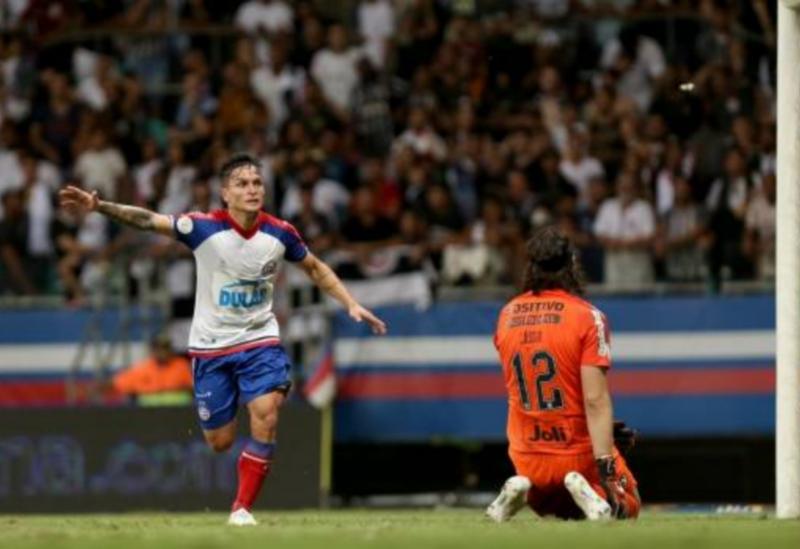 Bahia bate Corinthians na estreia do Brasileiro