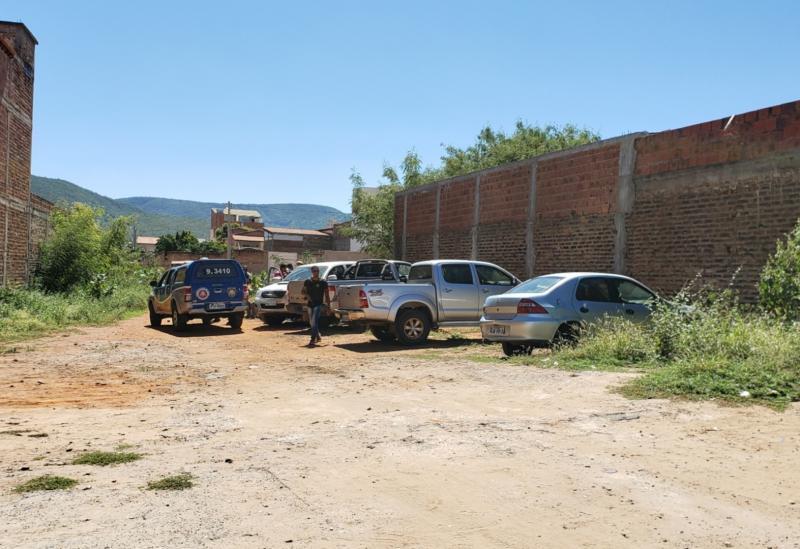 Brumado: após trocarem tiros com a PM, quatro suspeitos de assaltos são detidos