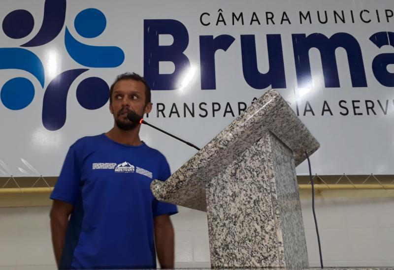 Brumado: Serginho Maratonista fala sobre a 2ª Meia Maratona Terrão e 'Ensaio Terrão' durante sessão da Câmara de Vereadores