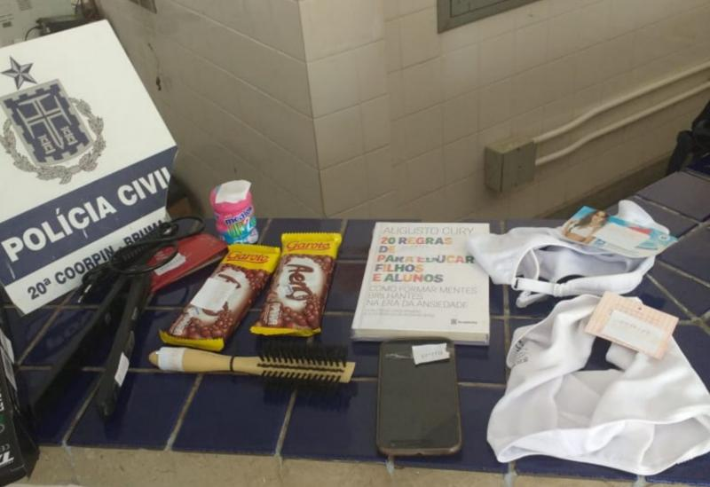 Brumado: Polícia Civil prende estudante de Direito por furtar estabelecimento comercial