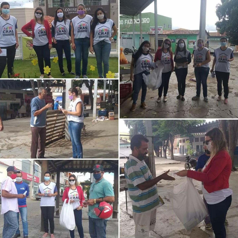 Aracatu: Cras realiza campanha de prevenção ao novo Coronavírus