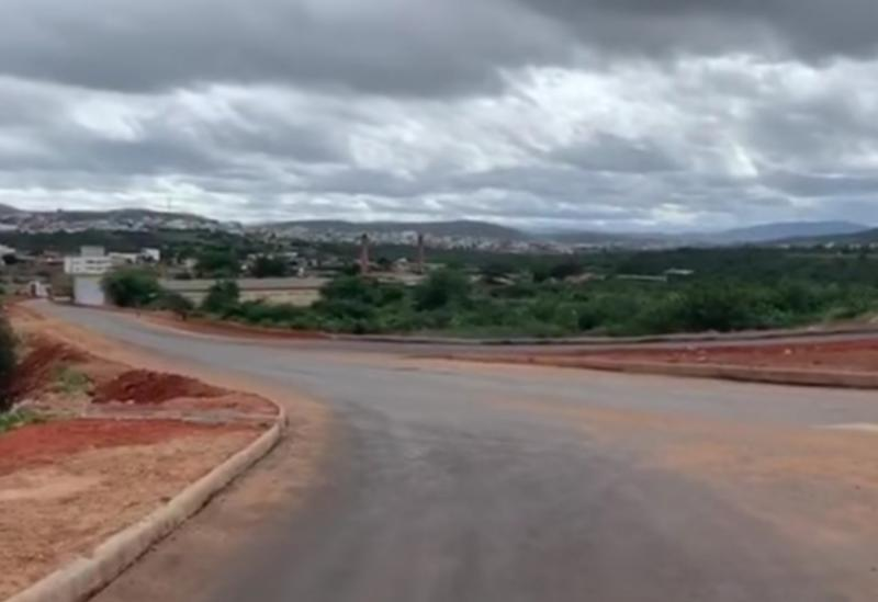 Brumado: Prefeitura intensificar construção da Rotatória da BR-030 na entrada do bairro Esconso