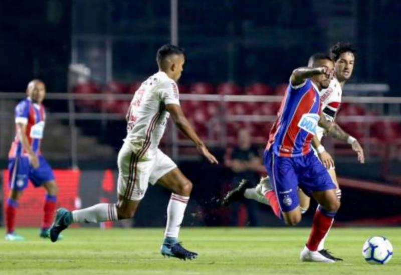 Copa do Brasil: Bahia vence São Paulo por 1 a 0 no Morumbi