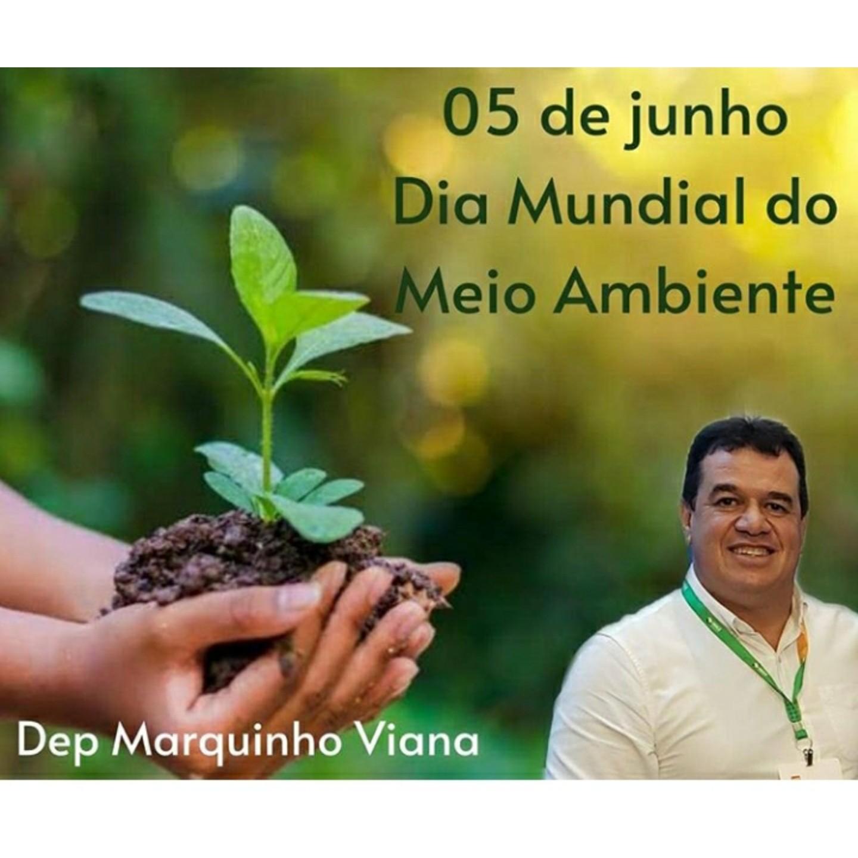 Deputado Marquinho Viana enaltece o Dia do Meio Ambiente, 5 de junho