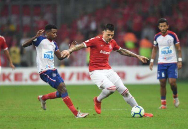 Bahia perde para o Inter por 3x1 no Beira Rio