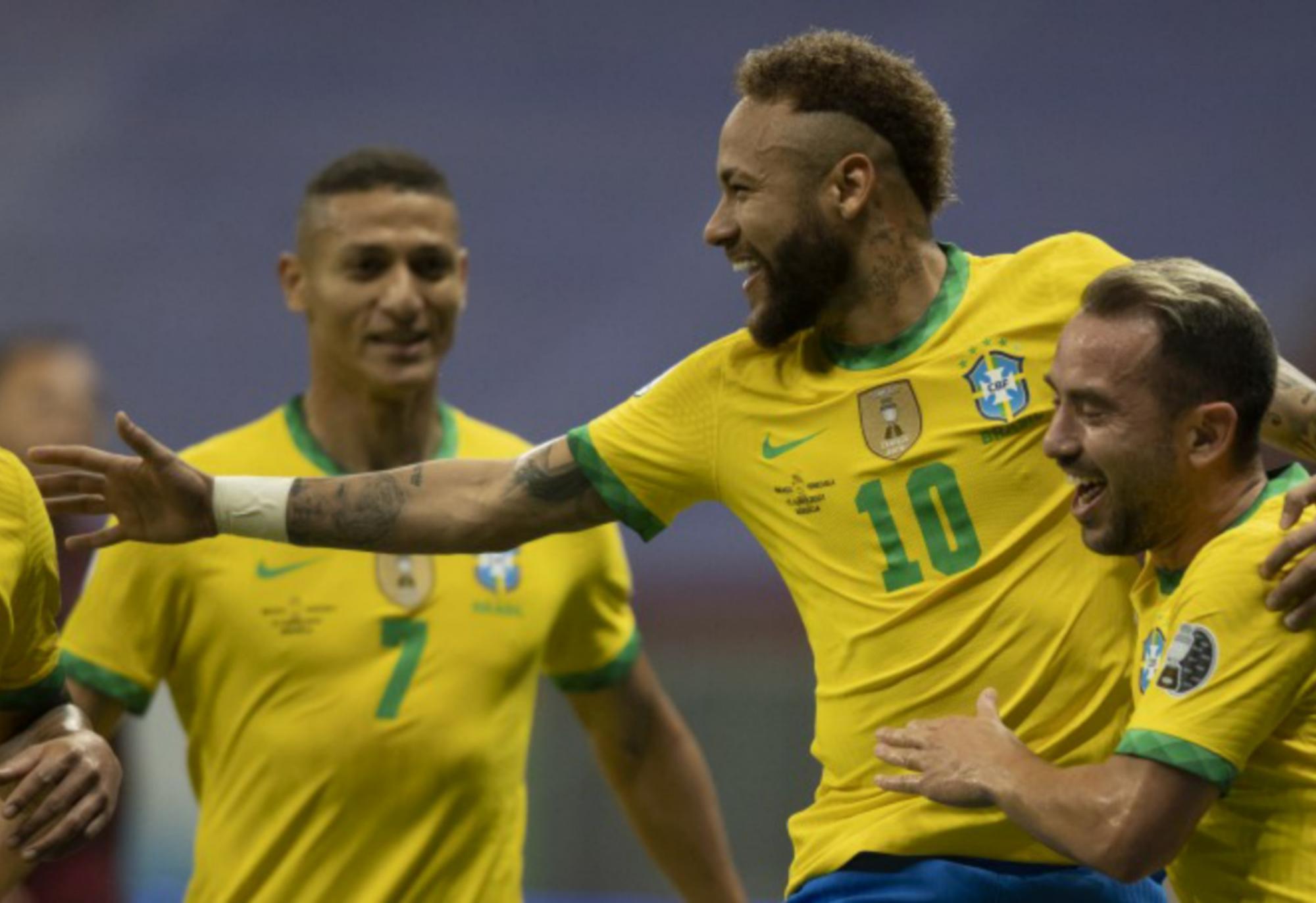 Brasil 3 x 0 Venezuela Seleção estreia na Copa América com vitória