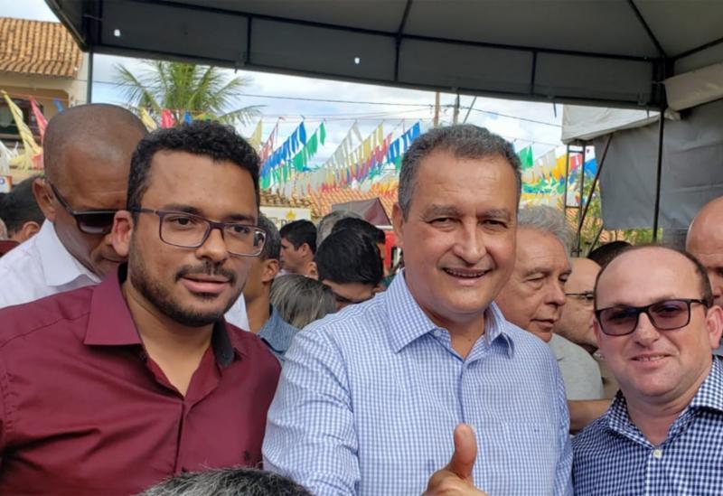 Governador Rui Costa inaugura obra executada pela empresa Construmendes em Presidente Jânio Quadros