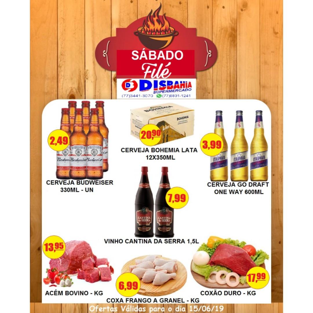 Ofertas: Sábado Filé do Disbahia Supermercado