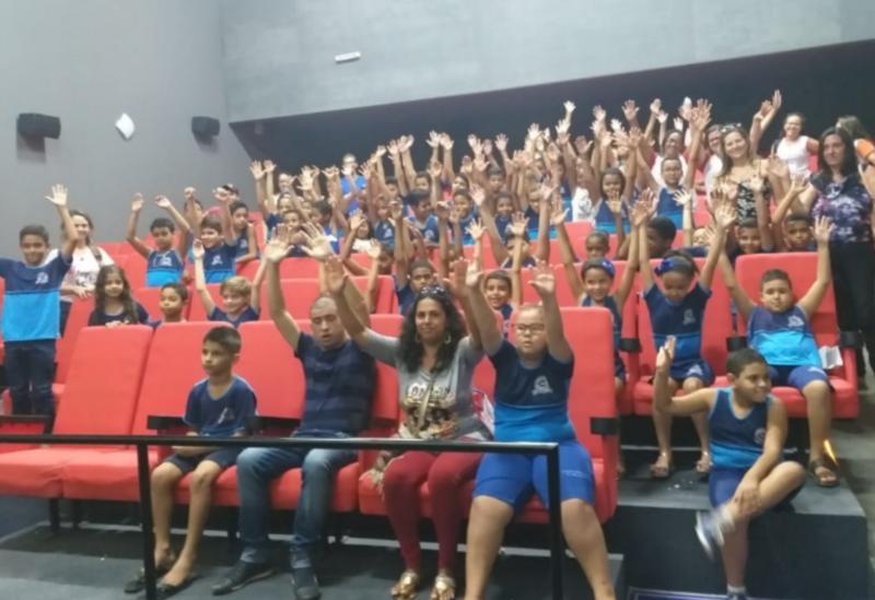 Projeto 'O Extraordinário Mundo do Cinema' comprova a versatilidade educacional promovida pela Prefeitura de Brumado