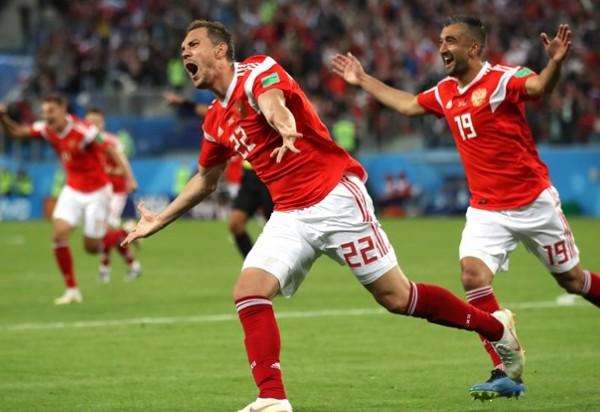 Copa do Mundo 2018:Rússia vence o Egito por 3x1