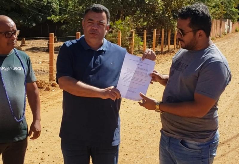Construmendes recebe ordem de serviço na cidade de Livramento de Nossa Senhora