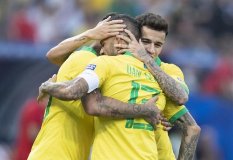 Brasil venceu o Peru por 5 a 0, garantiu a liderança do Grupo A e carimbou a vaga rumo às quartas de final da Copa América