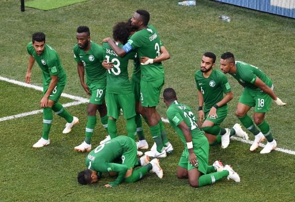 Arábia Saudita vence Egito de Virada por 2x1