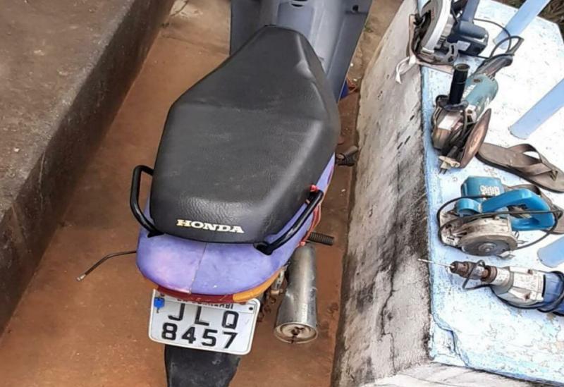 Cipe Sudoeste recupera em Licínio de Almeida moto furtada em Guanambi