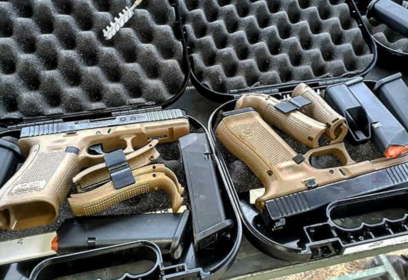 Cipe Sudoeste recebe novas pistolas