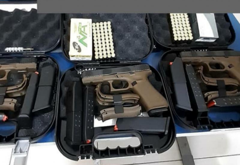 34ª CIPM/Brumado recebe novas pistolas importadas