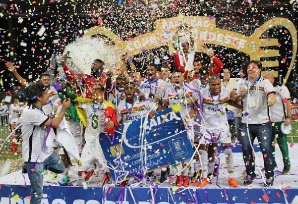 Sampaio Corrêa empata com o Bahia em 0 a 0 e conquista a Copa do Nordeste