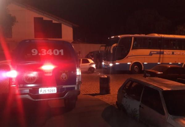 Brumado: grande quantidade de drogas é apreendida em mala dentro de bagageiro de ônibus da Novo Horizonte