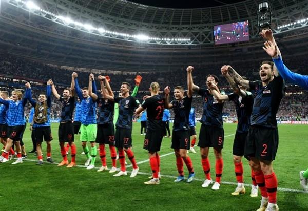 Croácia vence a Inglaterra e está na final da Copa pela primeira vez
