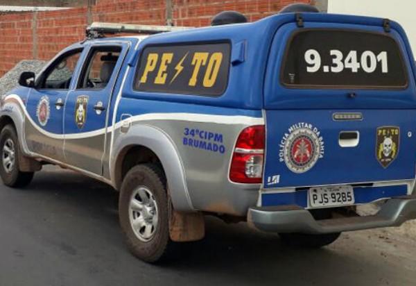 Brumado: homem commandado de prisão expedidoé preso pela PM