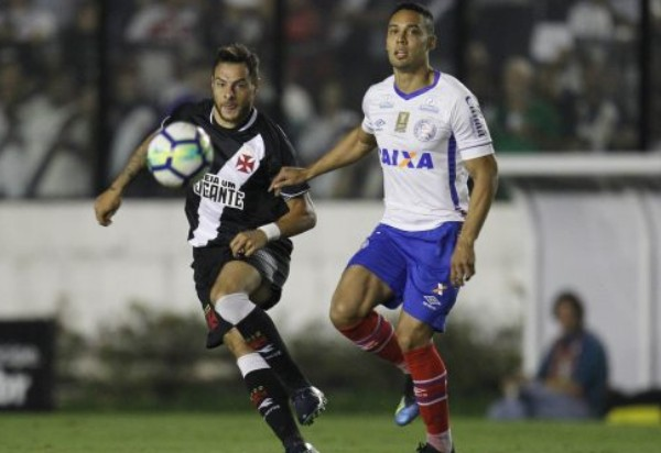 Bahia perde para o Vasco, mas avança na Copa do Brasil