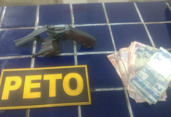 Brumado: Polícia Militar apreende adolescente praticando ato infracional análogo a roubo