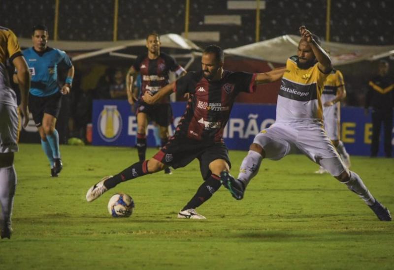 Vitória volta a vencer no Brasileiro
