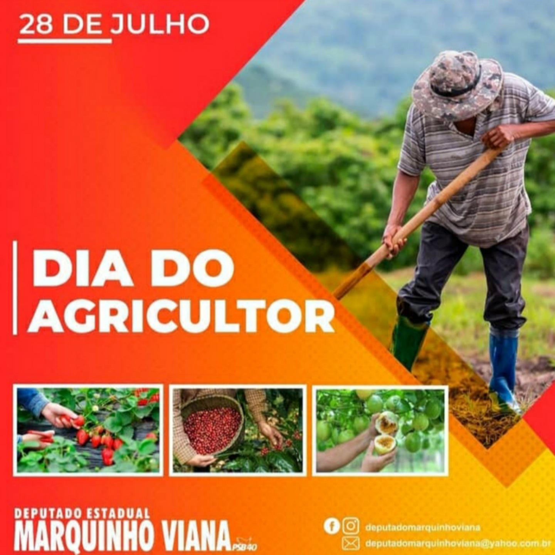 Deputado Marquinho Viana parabeniza Agricultor pelo seu dia