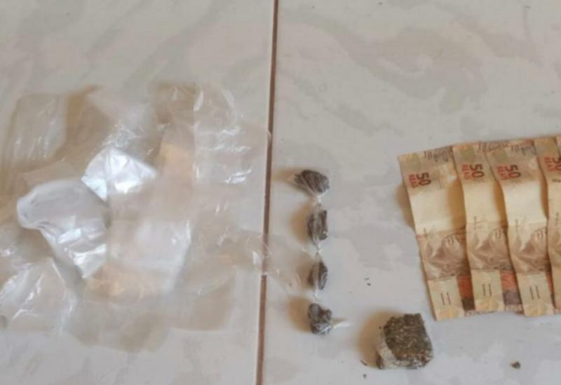 Barra da Estiva: mulher é detida com drogas em residência