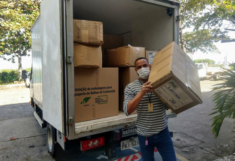 Governo da Bahia envia 229 mil máscaras e insumos hospitalares para o Sudoeste e Médio Rio de Contas