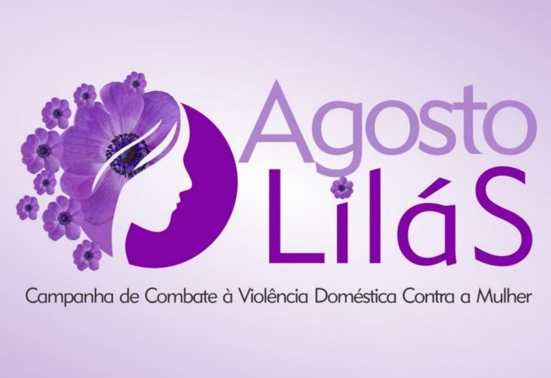 Agosto Lilás: mês da conscientização pelo fim da violência contra a mulher