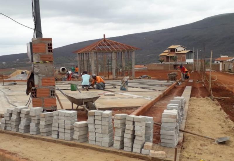 Obras do Parque da Cidade estão em ritmo acelerado