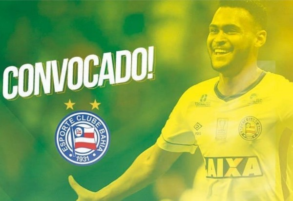 Junior Brumado é convocado para a seleção Brasileira sub 20