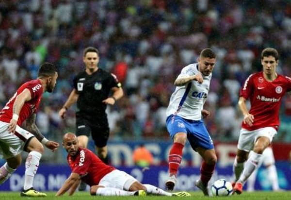 Bahia perde para o Inter na Arena Fonte Nova