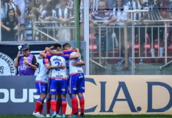 Gilberto marca e Bahia derrota o Galo
