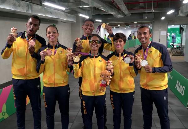 Parapan: Brasil bate recorde histórico com 308 medalhas em Lima