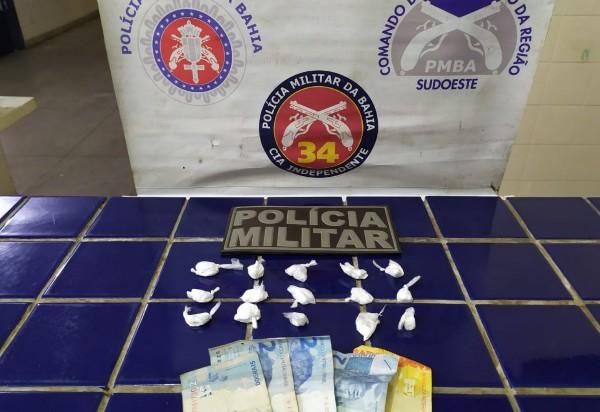 Homem acusado de tráfico de drogas é detido em Ituaçu