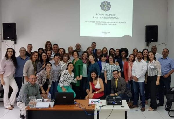 CEJUSC Brumado participa do 1º Curso de Formação de Instrutores em Justiça Restaurativa