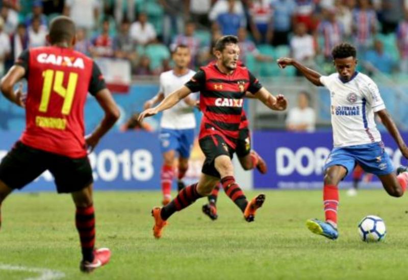 Bahia bate Sport por 2 a 0 na Fonte Nova