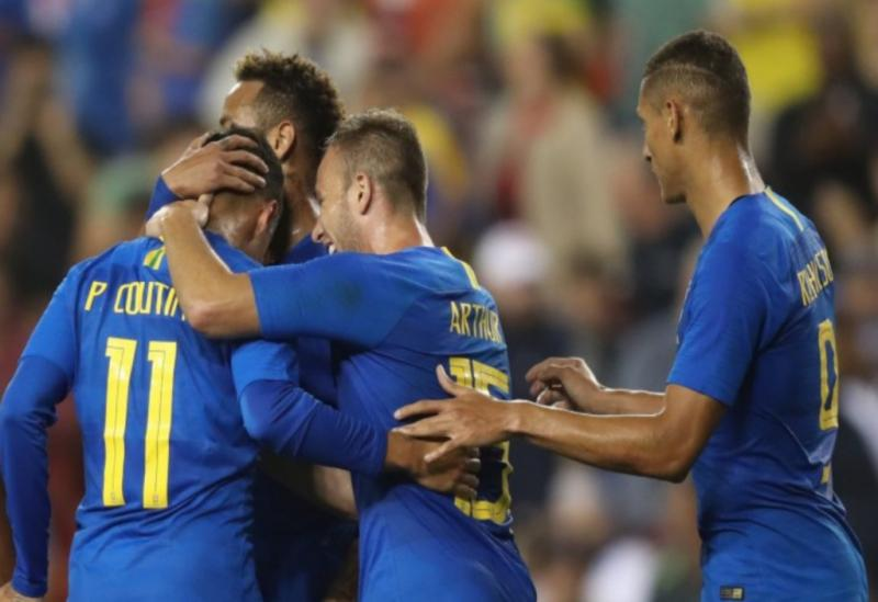 Seleção Brasileira goleia El Salvador em amistoso disputado nos EUA