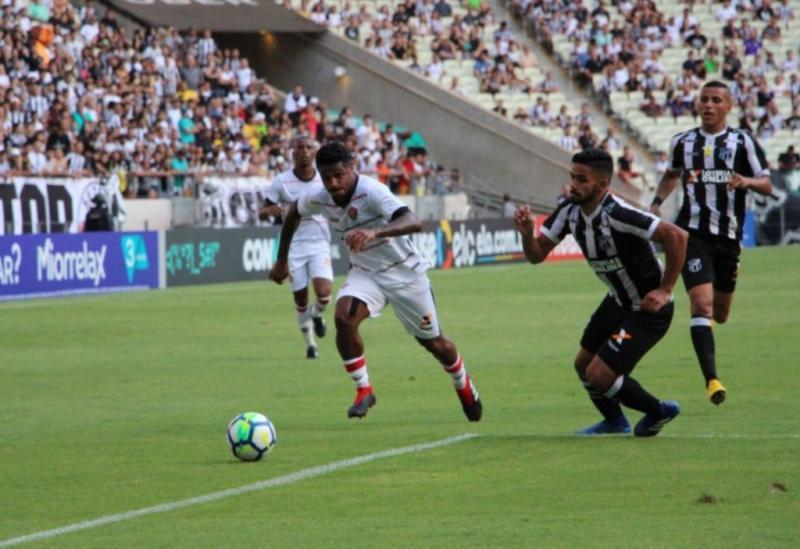 Vitória tropeça diante do Ceará pelo Brasileirão da Série A